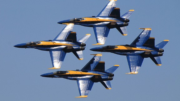 The U.S. Navy's iconic flying team, the Blue Angels, performed in 2014 for the first time in nearly a year after the team was grounded because of forced spending cuts. If you haven't had a chance to see them in person, watch them fly over the years in these photos from aerospace fans on CNN iReport.