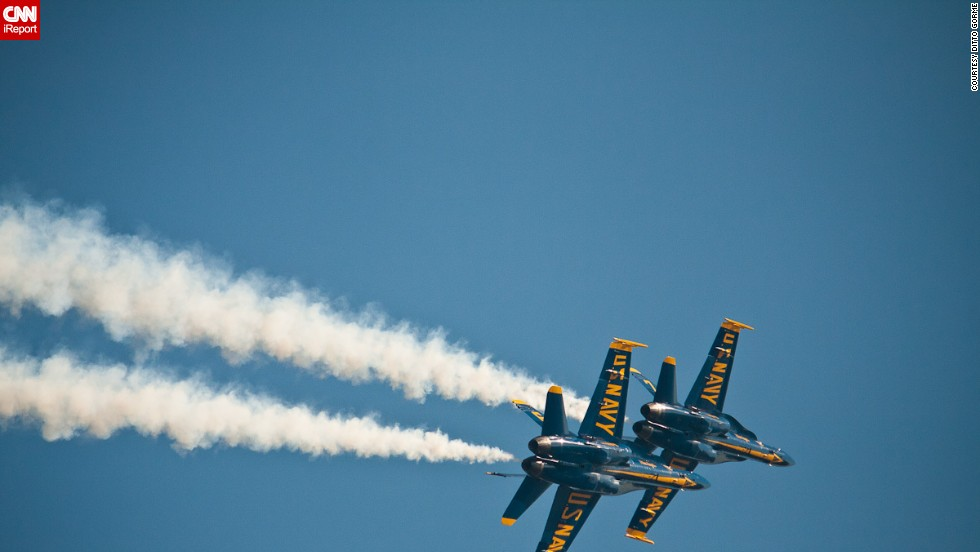 "The Blue Angels have been around since 1946. <a href=""http://www.blueangels.navy.mil/aircraft/"" target=""_blank"">They have flown more than 10 different aircraft</a> during their six-decade history."