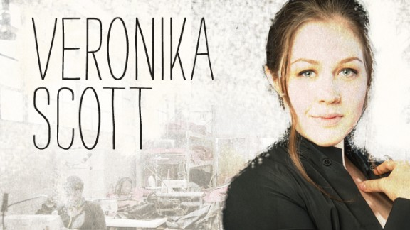 """Veronika Scott is founder and CEO of The Empowerment Plan, which employs homeless women to make heavy-duty, lightweight coats that turn into sleeping bags. This year, The Empowerment Plan expects to launch a """"buy one, give one"""" program that will make it sustainable beyond the donations and sponsorships that keep it running now."""