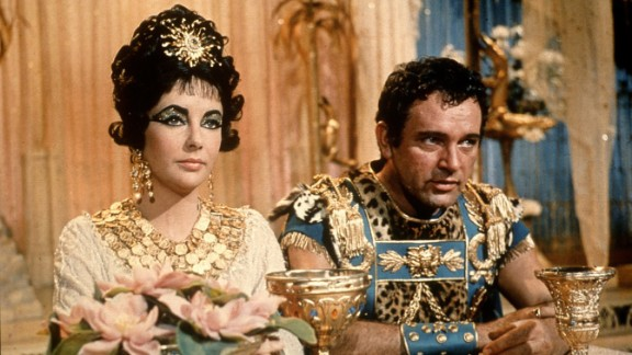 "Elizabeth Taylor played the Queen of the Nile in the 1963 film ""Cleopatra,"" which co-starred her real-life love Richard Burton. There was backlash in 2010 when it was announced that Angelina Jolie had been cast in a planned film based on the book ""Cleopatra: A Life."""
