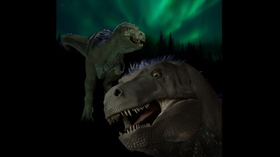 Illustration of the newly named genus and species that once roamed northern Alaska.