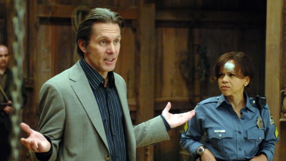"""Rosie Perez plays a cop in the comedy """"Pineapple Express."""" She described Gary Cole's style of acting as free flowing, yet serious."""
