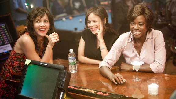 """Maggie Gyllenhaal (from left), Rosie Perez and Viola Davis starred in 2012's """"Won't Back Down."""" In the film, a mother and teacher try to take over a failing inner-city school."""