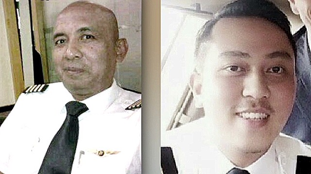 Who were the men who flew Flight 370?