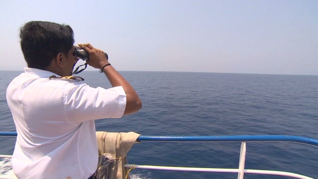 Private ships search for missing flight