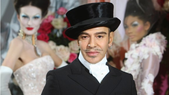 """""""I love Hitler,"""" was about the tamest thing John Galliano said in an anti-Semitic rant caught on tape in 2011. As a result, Galliano was fired from fashion giant Christian Dior and found guilty of making public insults based on origin, religious affiliation, race or ethnicity by a French court. In his trial, he said that alcohol and drugs were major factors, which he realized during a stint in rehab after he was fired."""