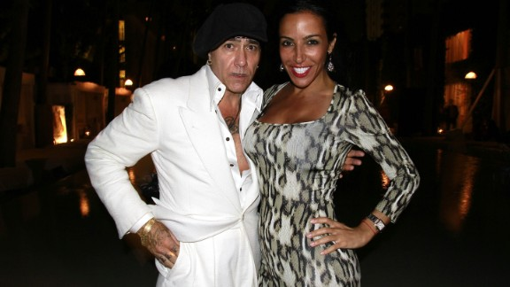 """Fashion designer Michele Savoia, left, was found dead in New York's Hudson River on Sunday, February 16. He was 55. The designer built a career dressing himself and celebrity clients in vintage clothing from the 1930s and 40s. He had a flair for the dramatic and had worked on Broadway shows such as """"Swing,"""" """"Promises, Promises"""" and """"Evita."""""""