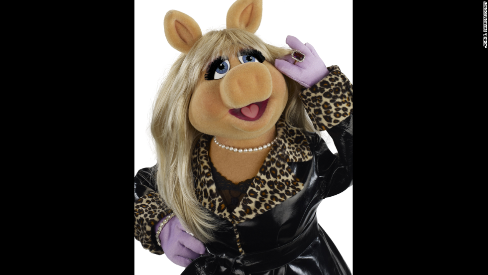 Miss Piggy. The pig-headed fashionista can be irksome, but she has a huge heart.
