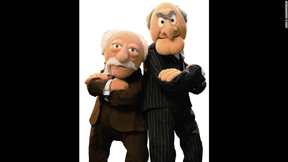 Waldorf and Statler. The dynamic duo have enjoyed (not really) their front-row seats to all of the fun.