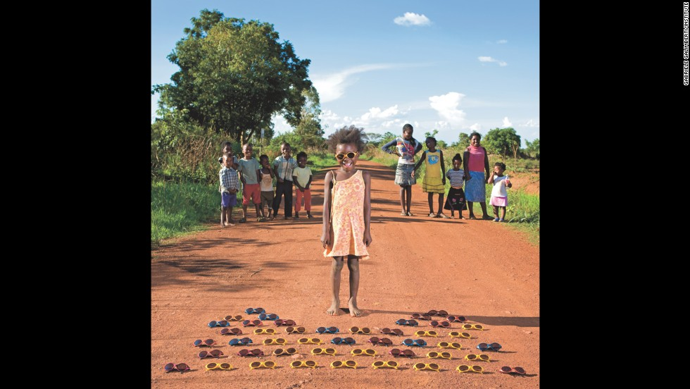 "Italian photographer Gabriele Galimberti traveled to more than 50 countries for his new book ""Toy Stories: Photos of Children from Around the World and Their Favorite Things."" The book will be out on March 25, and is published by Abrams Image. Here are some of the children featured: <br /><br />Maudy, 3 -- Kalulushi, Zambia"