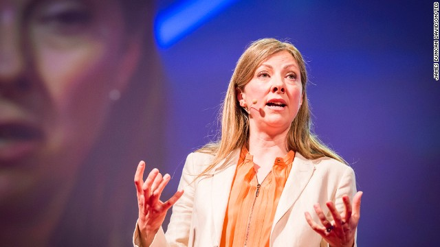Charmian Gooch, co-founder of Global Witness, at TED2013 in Edinburgh.