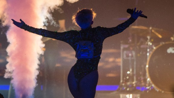 Some parents were reportedly less than thrilled with the singer's provocative antics during her concerts.
