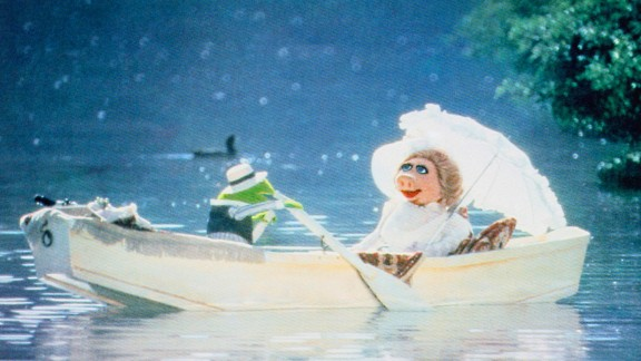 "On ""The Tonight Show"" in 1979, Miss Piggy claimed she and Kermit the Frog were engaged, much to Kermit's surprise. Although the frog swiftly shut down those engagement reports, we got the backstory on how Piggy and Kermit fell in love at first sight in 1979's ""The Muppet Movie."" They could've just been playing characters, but we know a spark when we see it."