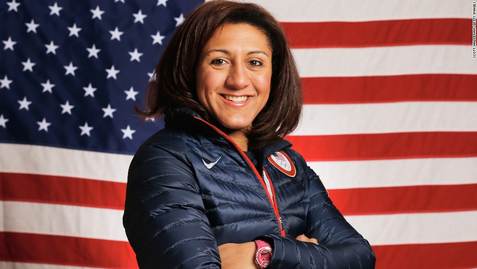 The aim of her sporting transition -- however temporary -- is to make the U.S. team for the 2016 Rio Olympics.