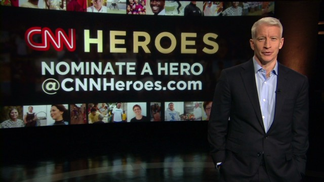 CNN is looking for Heroes. Who's yours?