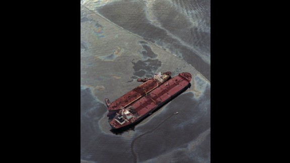 The oil from the Exxon Valdez spread through the Sound and out into the Gulf of Alaska, damaging over 1,300 miles of some of the most remote, wild shoreline in this country.