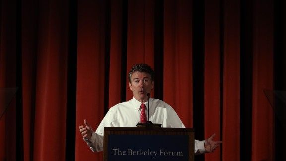 Speaking at the University of California at Berkeley in March 2014, Paul speaks on the issues of privacy and curtailing domestic surveillance.