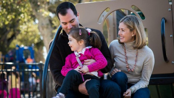 Grace Wilsey was born with NGLY1 deficiency, which is caused by two mutations in the NGLY1 gene.