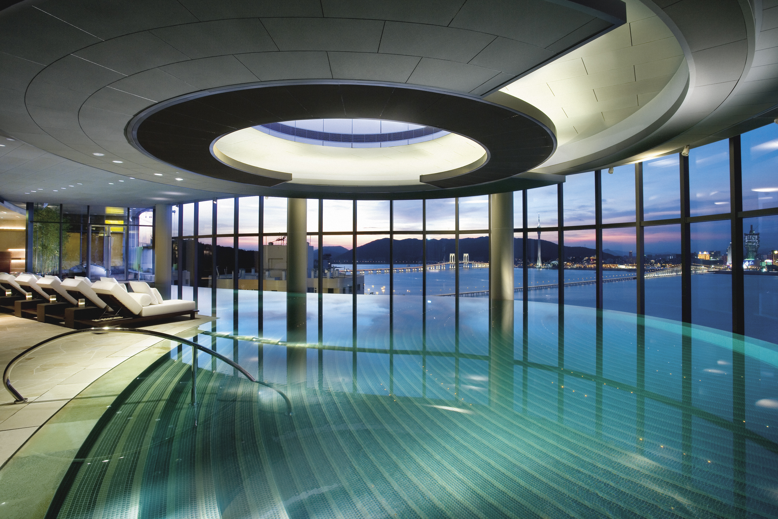 Indoor pool Swimming Cnncom Of The Best Indoor Hotel Pools Around The World Cnn Travel