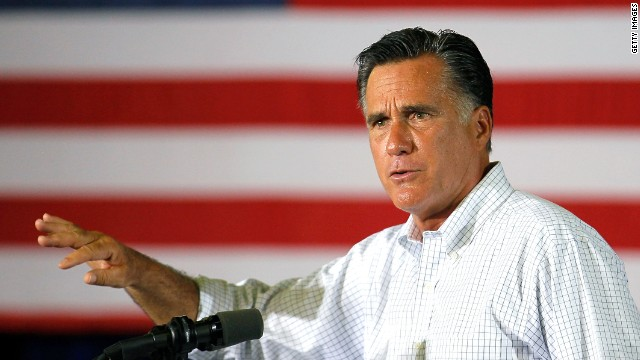 Republican presidential candidate, former Massachusetts Gov. Mitt Romney speaks during a campaign event at Monterey Mills on June 18, 2012 in Janesville, Wisconsin.