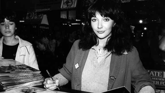 Kate Bush in 1980 -- a year after her last tour. She started a 22-show run in London Tuesday.
