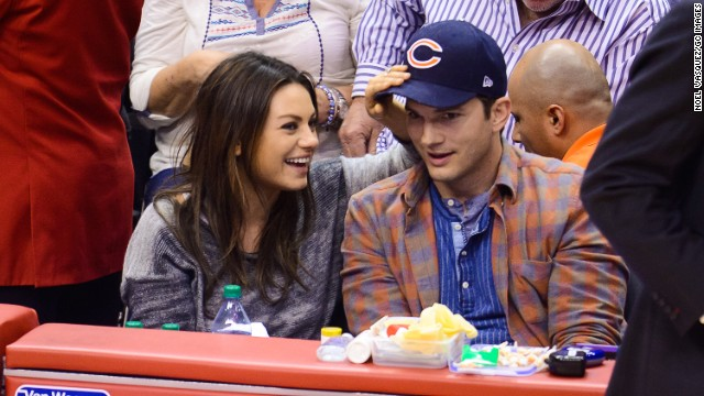 Mila Kunis and Ashton Kutcher are expecting.