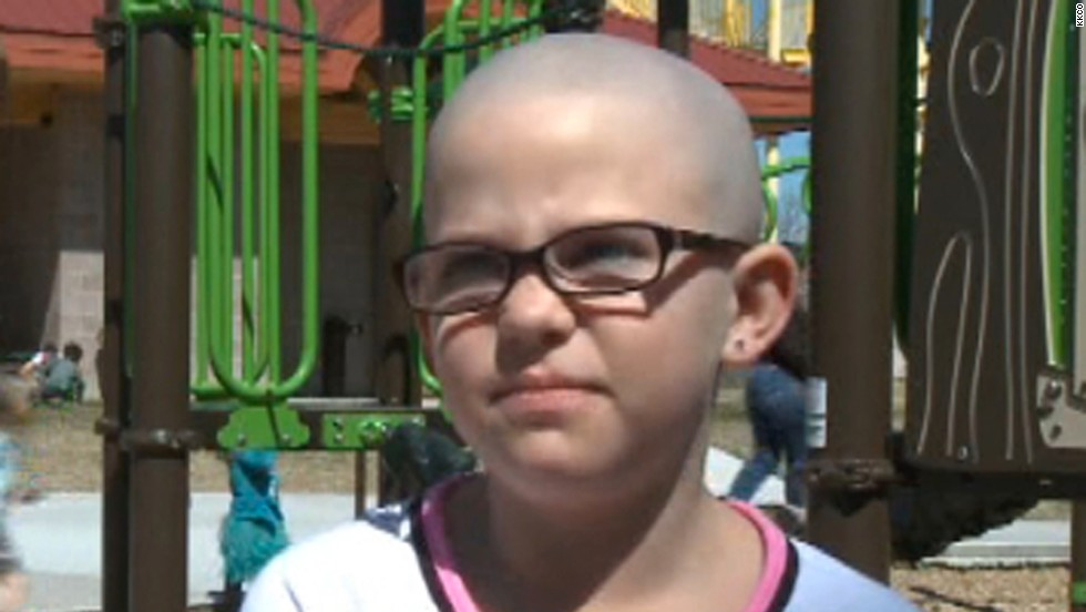 "In 2014, third-grader Kamryn Renfro shaved her head to show support for a friend with cancer. She was <a href=""http://www.cnn.com/video/data/2.0/video/us/2014/03/25/mxp-girl-banned-from-school-for-shaving-head.hln.html"">suspended from school </a>because her Grand Junction, Colorado, charter school has a strict dress code that disallows shaved heads."