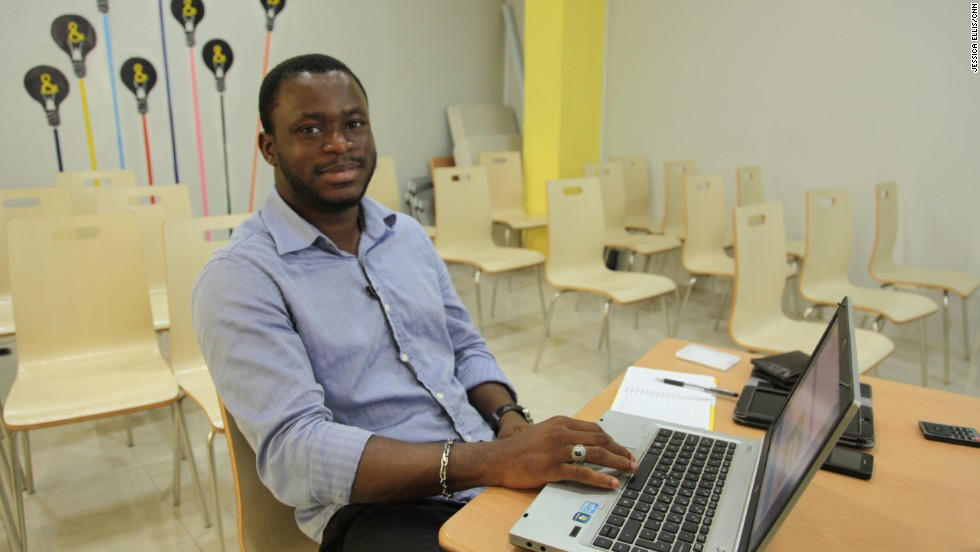 "<a href=""https://twitter.com/gossyomega"" target=""_blank"">Gossy Ukanwoke</a>, pictured, was still a student when he embarked on his entrepreneurial journey by launching Students Circle, an educational social network that offers an immense academic resource to students. Later on, the young entrepreneur decided to evolve his idea into Beni American University, a private online institution -- the first of its kind in Nigeria. <br /><br />""We are providing executive programs for graduates who are looking for employment and want to build up their resumes, or managers who want to climb up the hierarchy of their companies,"" said<a href=""/2014/04/02/world/africa/nigeria-mark-zuckerburg-gossy-ukanwoke/"" target=""_blank""> the budding entrepreneur, now 25, in a previous interview with CNN. </a><br /><br /><strong><a href=""/2014/03/26/spc-african-start-up-gossy-ukanwoke.cnn.html"" target=""_blank"">WATCH: 'Nigeria's Mark Zuckerberg' builds own school</strong></a>"