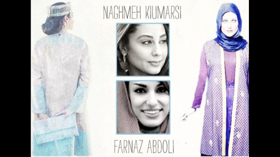 Iranian fashion designers Naghmeh Kiumarsi and Farnaz Abdoli have drawn international attention recently for collections that shake up old standards and show another side of Iranian women. Both designers' collections are dominated by colorful prints, interpreted silhouettes and lightweight fabrics, a cognizant, forward-thinking aesthetic that suits the climate and state dress codes.