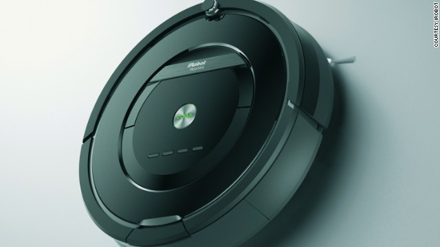 iRobot's newest Roomba 880 vacuum cleaning robot