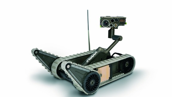 The iRobot SUGV 5, one of the company