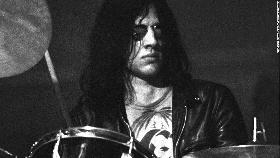 "Drummer <a href=""http://www.gettyimages.com/detail/news-photo/drummer-scott-asheton-of-iggy-andthe-stooges-performs-in-news-photo/479298893"" target=""_blank"">Scott Asheton,</a> who co-founded and played drums for the influential proto-punk band The Stooges, died March 15. He was 64."