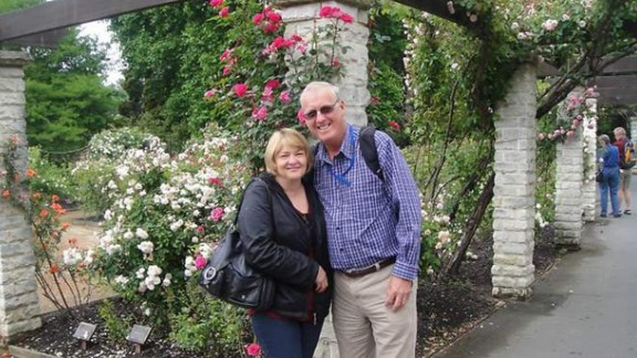 Rodney and Mary Burrows were looking forward to becoming first-time grandparents after their return home to Australia.