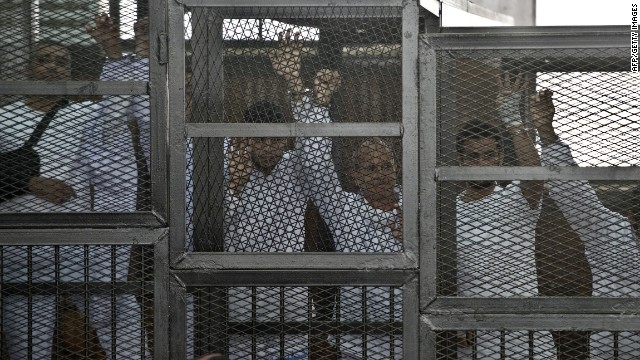 Journalists denied bail in Egypt
