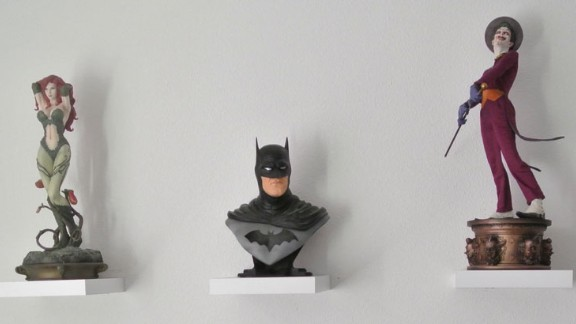 """Like so many Batman fans, Huizing says he can identify with the character, who has no real superpowers. """"I still can"""