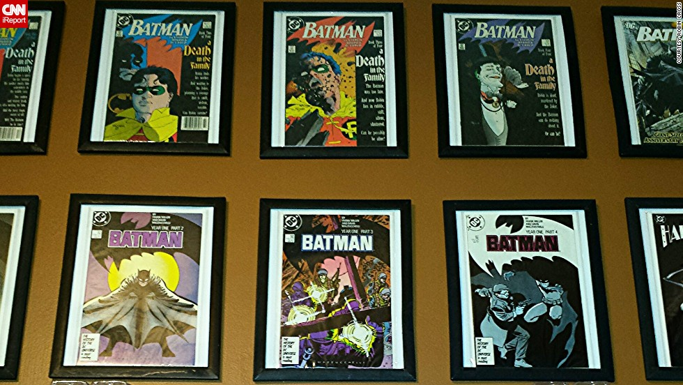 Cross, from Windsor, Ontario, has a number of notable Batman comic books from the various series' long run.