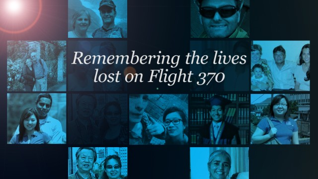 Remembering the passengers of MH370