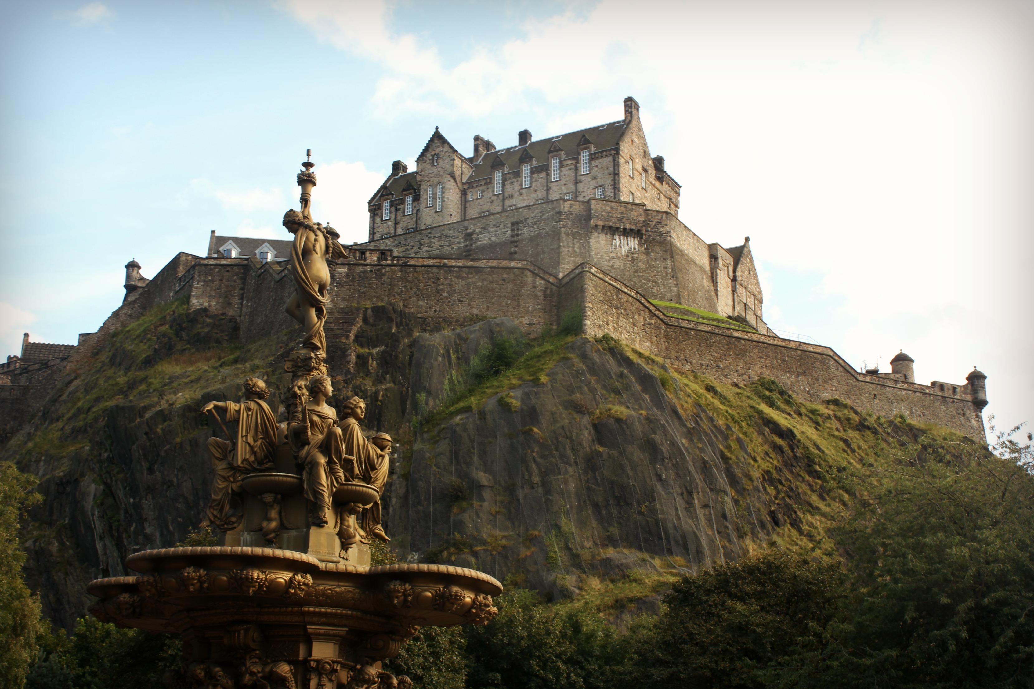 on castles scotland map