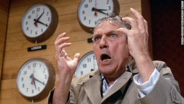 Peter Finch in 'Network'