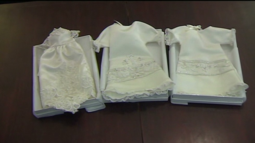 Wedding gowns turned to burial gowns - CNN Video
