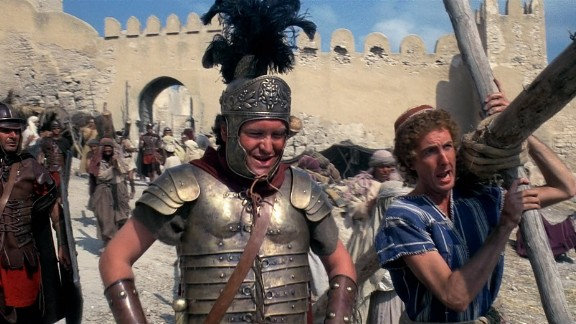 """Monty Python's """"Life of Brian"""" (1979): This British satire has become a staple of the Monty Python canon. The film drew accusations of blasphemy and protests from religious groups upon its release. It was banned from some parts of the United Kingdom, and some countries entirely, for decades. In typical Monty Python fashion, the filmmakers used the negative attention to assist their marketing campaign. It must have helped, as """"'Life of Brian"""" became a box office success."""