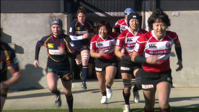Rugby on the rise in Japan
