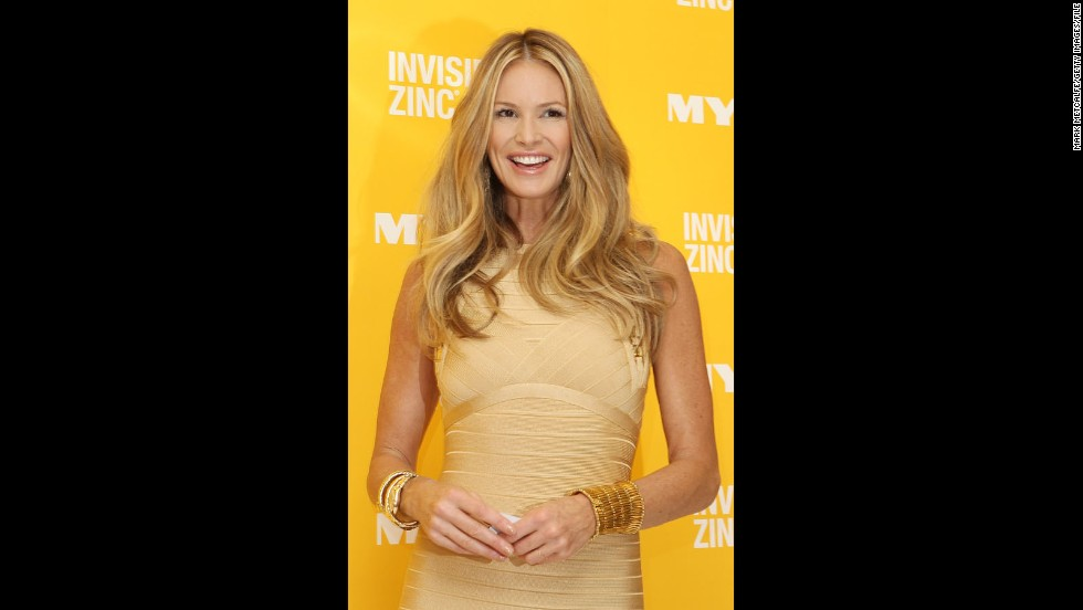 Model Elle Macpherson celebrated her 50th birthday on March 29, and she still looks exactly like the fresh-faced, leggy Australian beauty we came to know in the '80s.