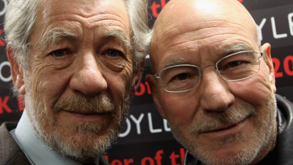 "Co-workers and good friends, ""X-Men"" stars Ian McKellen and Patrick Stewart have perfected the art of the bromance. In a new interview with AARP magazine, McKellen said that Stewart is ""straightforward,"" but ""his nature is a very sweet one. And we spend much of our time laughing."" The way all bros should."