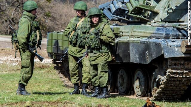 40,000 Russian troops on Ukraine border - CNN Video