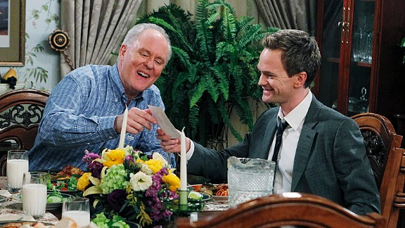 Eventually, Barney finally found his real father, played by John Lithgow.