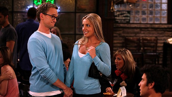 Britney Spears popped up in two episodes, as the naïve Abby, who was the unfortunate victim of one of Barney's many schemes.