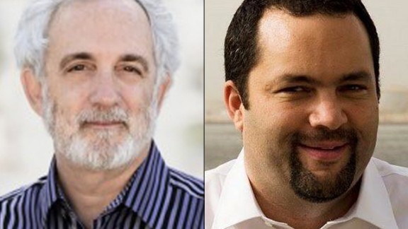 Mitchell Kapor and Benjamin Todd Jealous