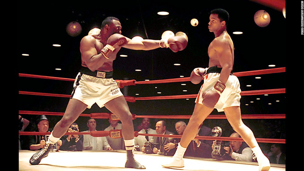 "<strong>""Ali"":</strong> Michael Bent and Will Smith star as Sonny Liston and Muhammad Ali in this 2001 biopic. <strong>(Hulu) </strong>"