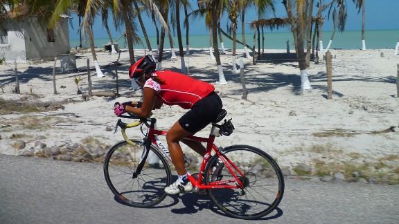 ... bike 2,932 miles ...